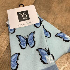 Papillon Bleu - Femme Gr 6-10