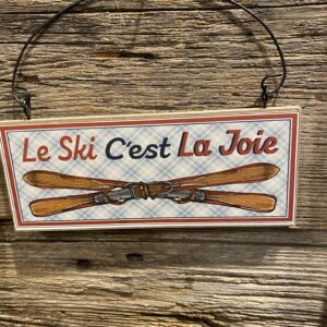 Ornement - Le Ski C'est La Joie