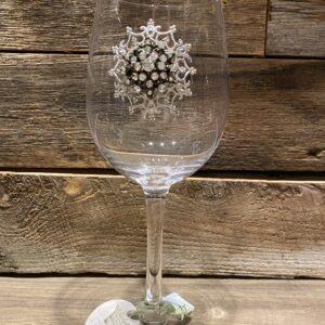 Coupe vin bijoux