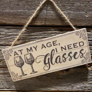 At my age
