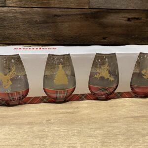 Ensemble de 4 verres à vin