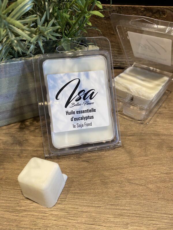 Cire de soja en cube Isa Eucalyptus pour bruleur (6/paquet)