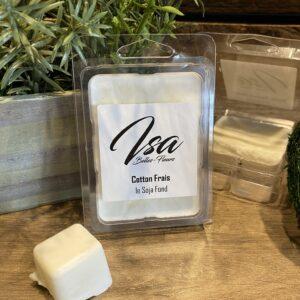 Cire de soja en cube Isa Cotton Frais pour bruleur (6/paquet)