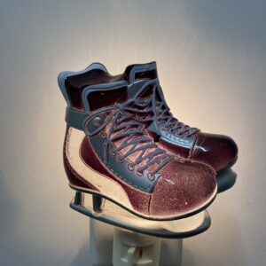 Veilleuse - Patin Hockey Vintage