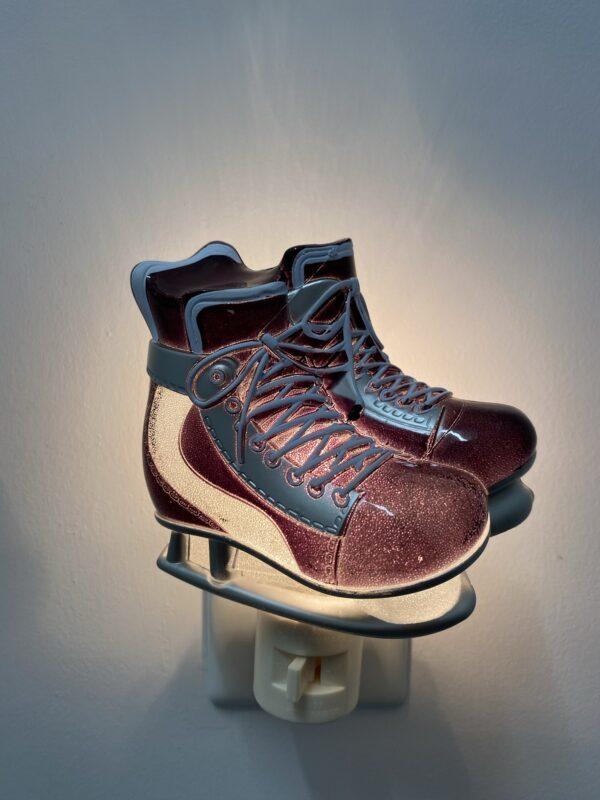 Veilleuse - Patin Hockey Vintage