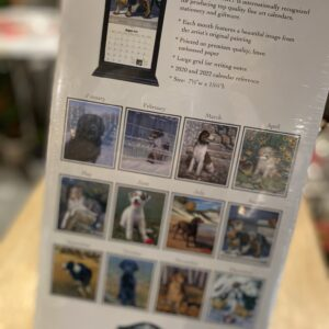 Calendrier 2021 - Chiens Pine Ridge Art 7-1/2'' x 15-1/2''